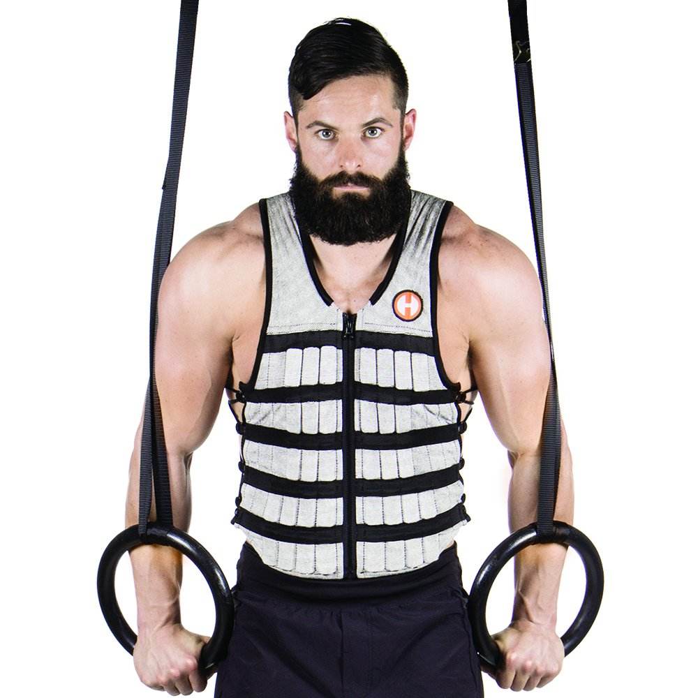 Hyperwear Hyper Vest PRO Adjustable Weight Vest Medium, Comfortable Fabric, Unisex 10-Pound, Functional Fitness Training, Walking Weight Vest, Flexible Material, Side Laces for Custom Fit by Hyperwear (Image #10)
