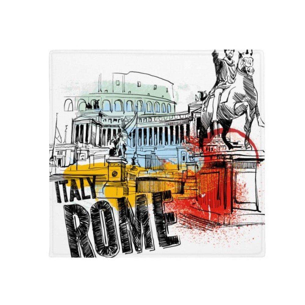 DIYthinker  Rome Landscape Roman Theater Anti-Slip Floor Pet Mat Square Home Kitchen Door 80Cm Gift