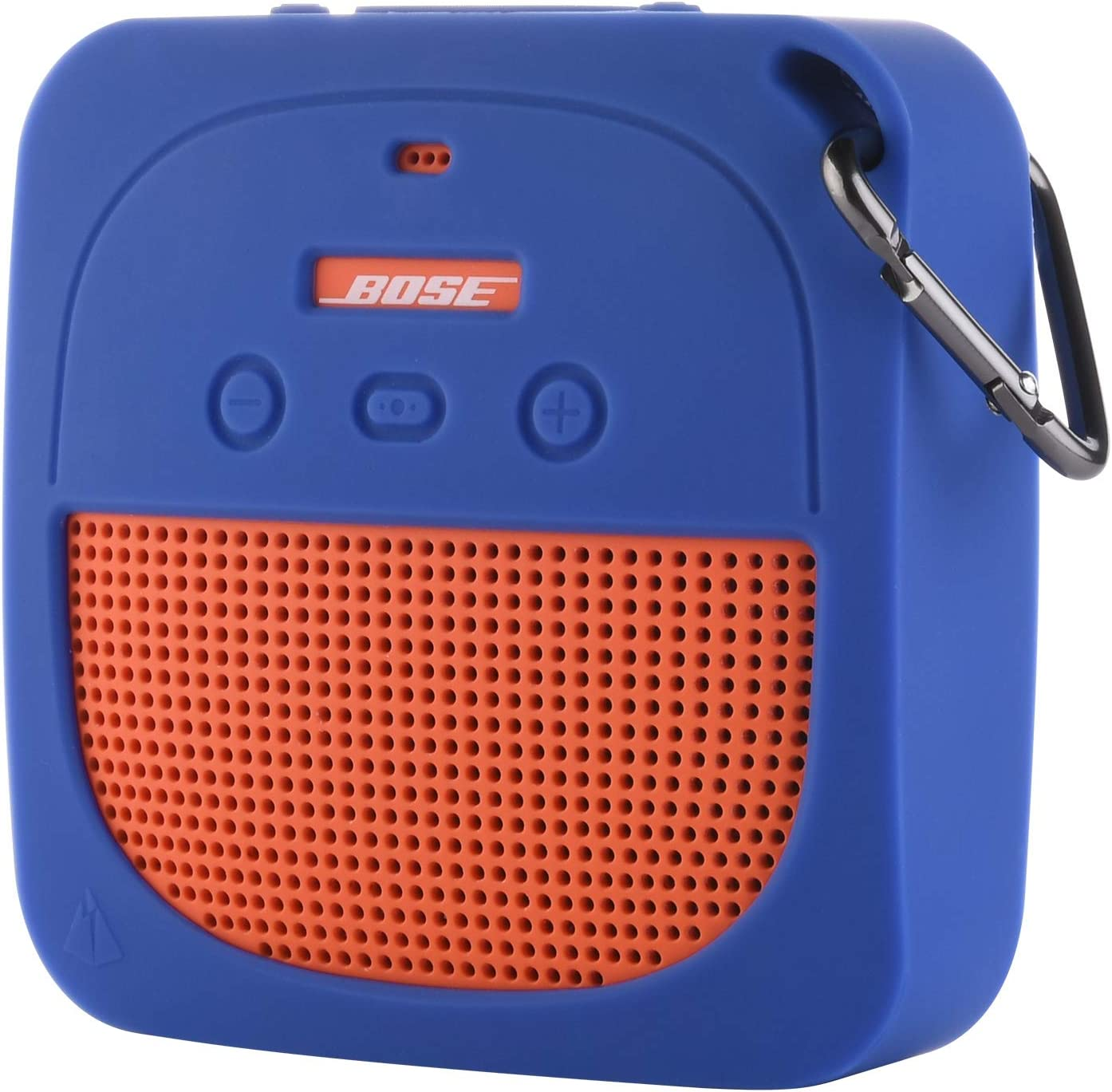 TXEsign Protective Silicone Stand Up Case for Bose Soundlink Micro Waterproof Bluetooth Portable Speaker (Blue)