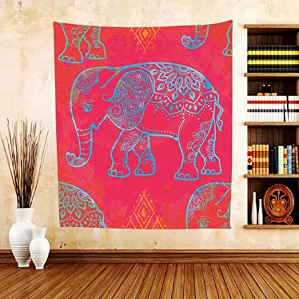 Amazon.com: Gzhihine Custom tapestry Psychedelic Tapestry Indian ...