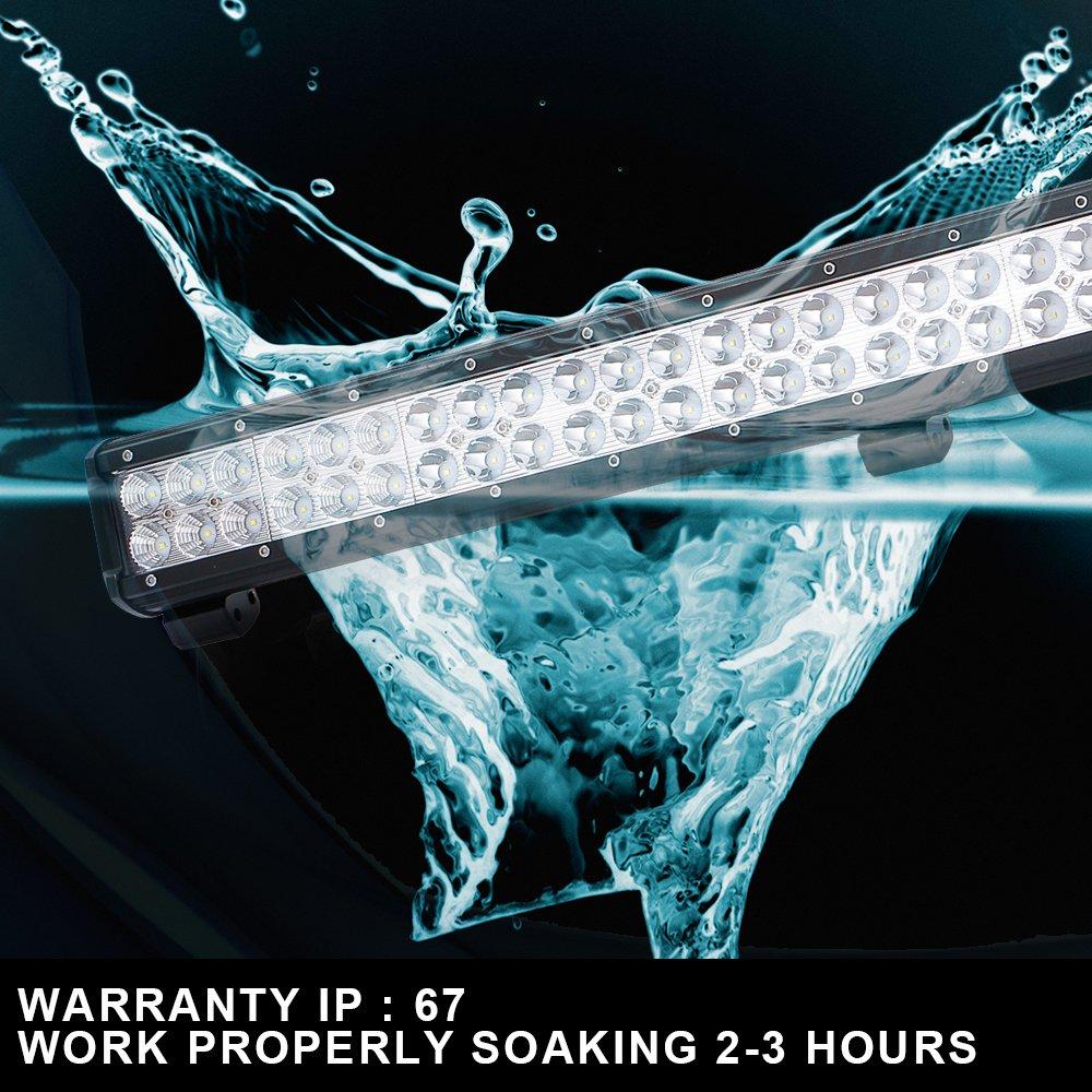 50 Windshield Led Light Bar Wiring Harness 3x3 Pods For Jeep Jk Wrangler Tj