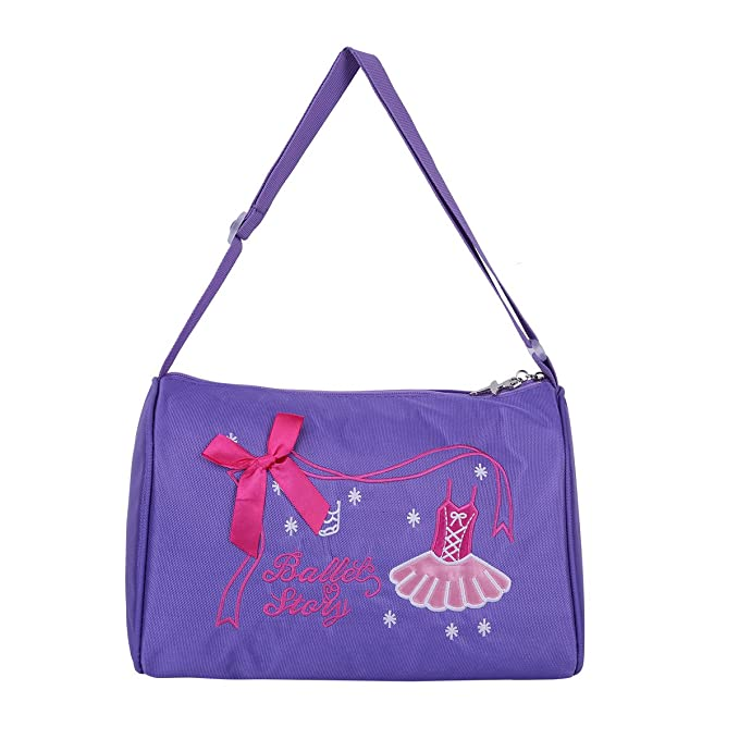 Amazon.com | iiniim Girls Ballerina Ballet Dance Bag Kids ...