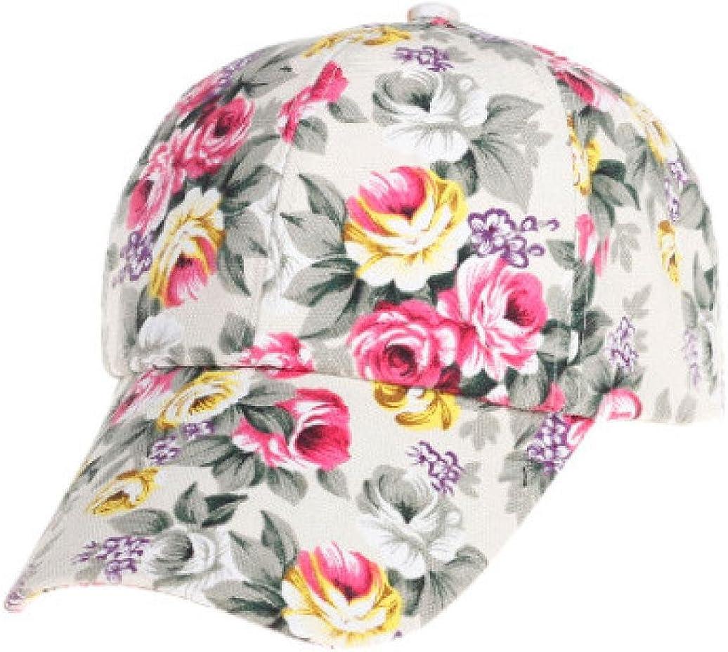 NEW Men Women Snapback Baseball Cap Hip Hop Hat Floral Letter Adjustable Canvas