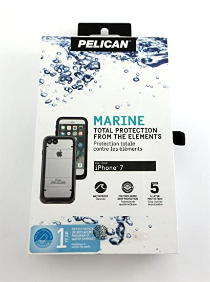 new product 75734 0e357 Pelican Marine Waterproof Case For Apple iPhone 7 4.7