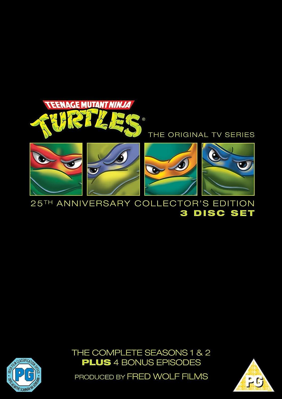 Teenage Mutant Ninja Turtles: The Complete Seasons 1 And 2 ...