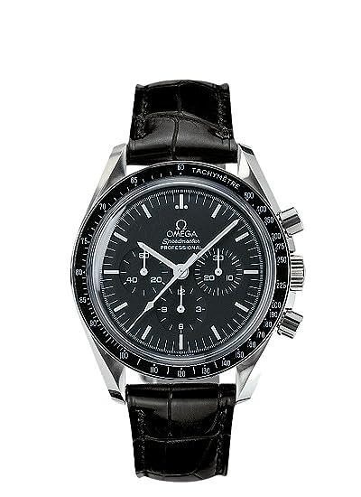 Omega - Reloj de Pulsera Cronógrafo Automático Caucho 31133423001002: Omega: Amazon.es: Relojes