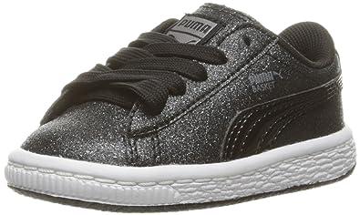 PUMA Basket Holiday Glitz Kids Sneaker (Toddler) 7af268303