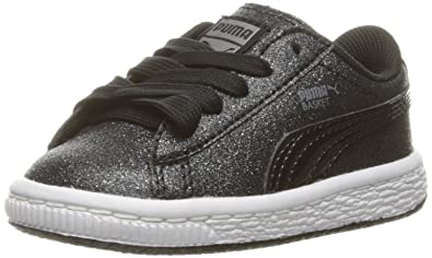 b39ec9342ec PUMA Basket Holiday Glitz Kids Sneaker (Toddler)