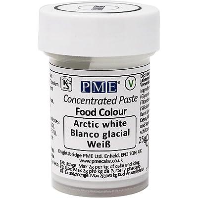 Colorante Alimenticio PME Blanco Ártico 25 g