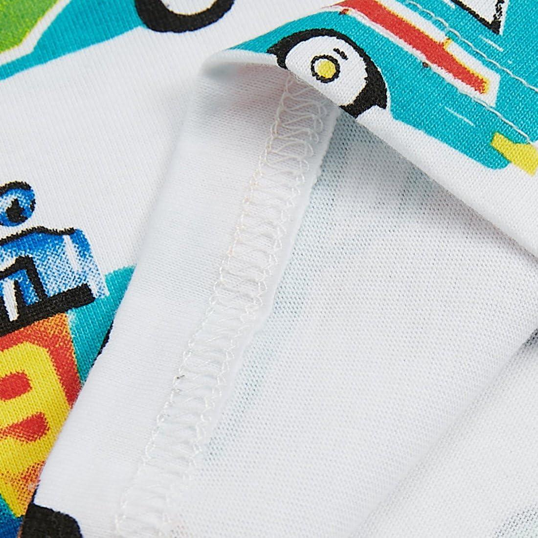 Sooxiwood Little Boys Tank Tops Car Printing Summer