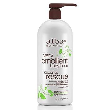 Amazon.com   Alba Botanica Very Emollient Coconut Rescue Body Lotion ... e6bf05cda42