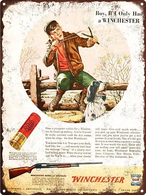 Toddrick Winchester Cartel de Chapa Estilo Vintage, Cocina ...