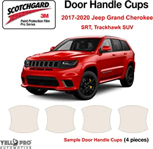 3M PRO Series Paint Protection Kit for Jeep Grand Cherokee 2017-2019 Door Cups