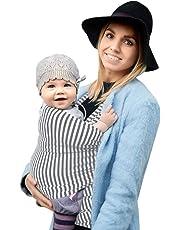 Fastique Kids® Babytragetuch - elastisches Tragetuch für Früh- und Neugeborene Kleinkinder - inkl. Baby Wrap Carrier Anleitung