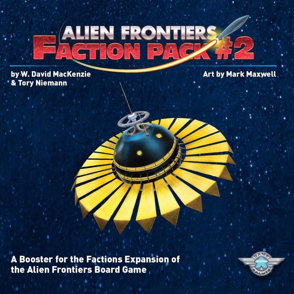 Alien Frontiers: Faction Pack #2: Amazon.es: Juguetes y juegos