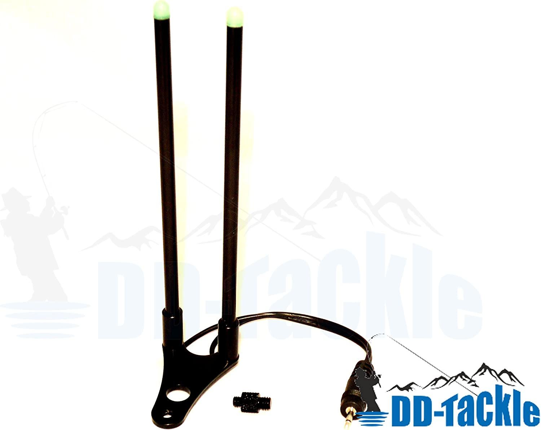 LED Alu Snag Bar Ear Arm Bissanzeiger Rutenhalter Rutensicherung f/ür Bank Stick und Rod Pod