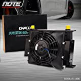 Northern HURRICANE Oil Cooler with Cooling Fan