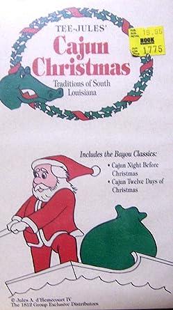 Cajun Christmas.Amazon Com Tee Jules Cajun Christmas Traditions Of South