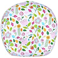 IBraFashion Newborn Lounger Cover Removable Cover Girls 100% Soft Cotton (Cute Flowers)