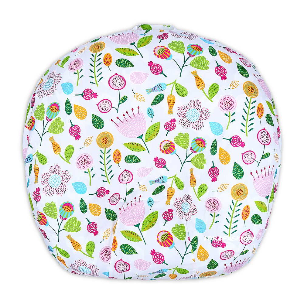 Newborn Lounger Cover Removable Cover 100% Soft Cotton Cute Flower
