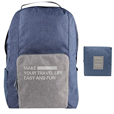 Amazon.com | CAREMORE Unisex's Lightweight Fodable Backpack ...
