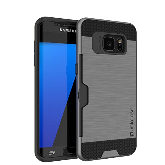 promo code bdafb 56816 Amazon.com: Galaxy S7 Edge Case, PUNKcase [SLOT Series] [Slim Fit ...