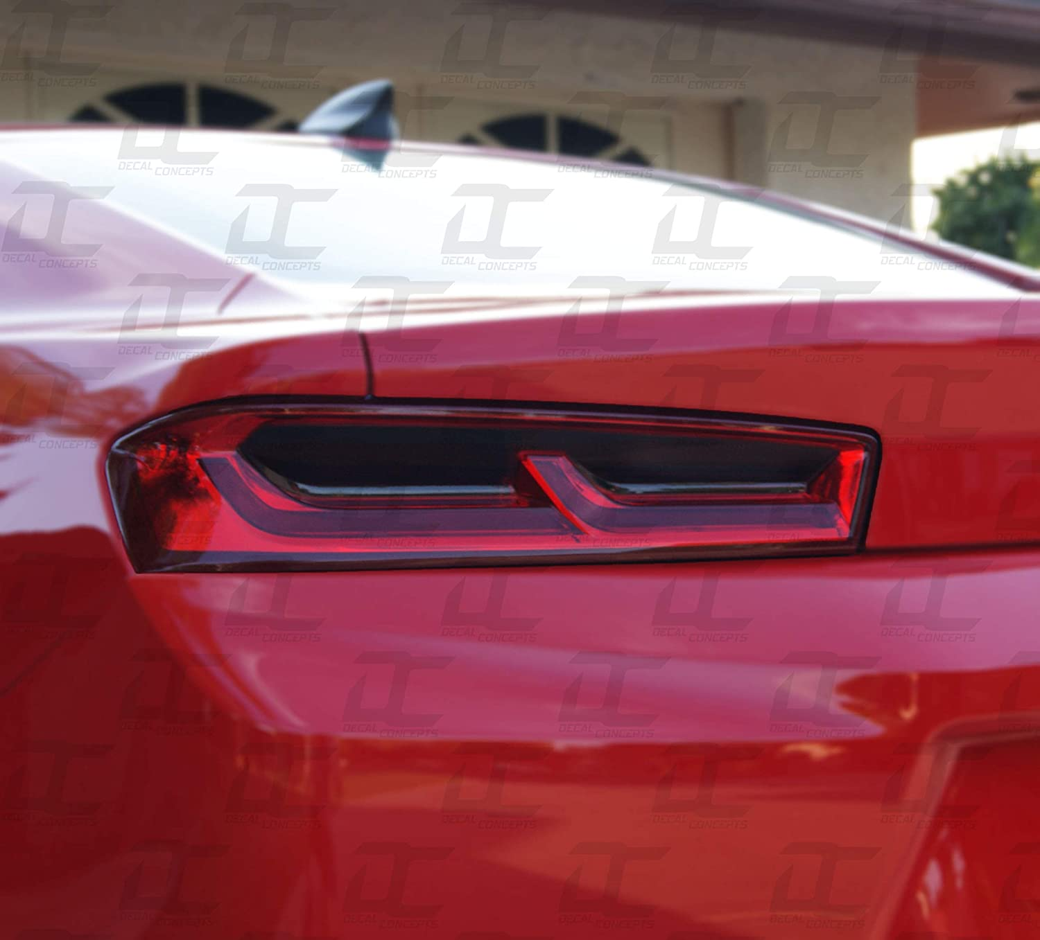 Camaro Tail light Smoked Tint Decal kit 6th GEN (2016-2018) Decal Concepts