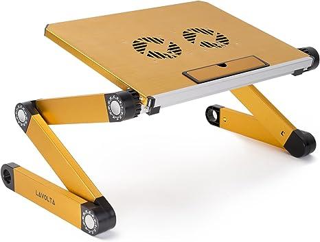 Lavolta – Soporte para DJ mesa escritorio bandeja con base de ...