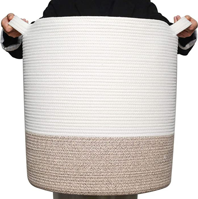 Top 10 Kids Cotton Woven Rope Laundry Basket
