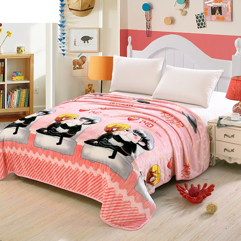 Merveilleux Coral Fleece Blanket/thicken Blanket / Double Blankets Bed Sheets/nap  Blanket/ Blanket
