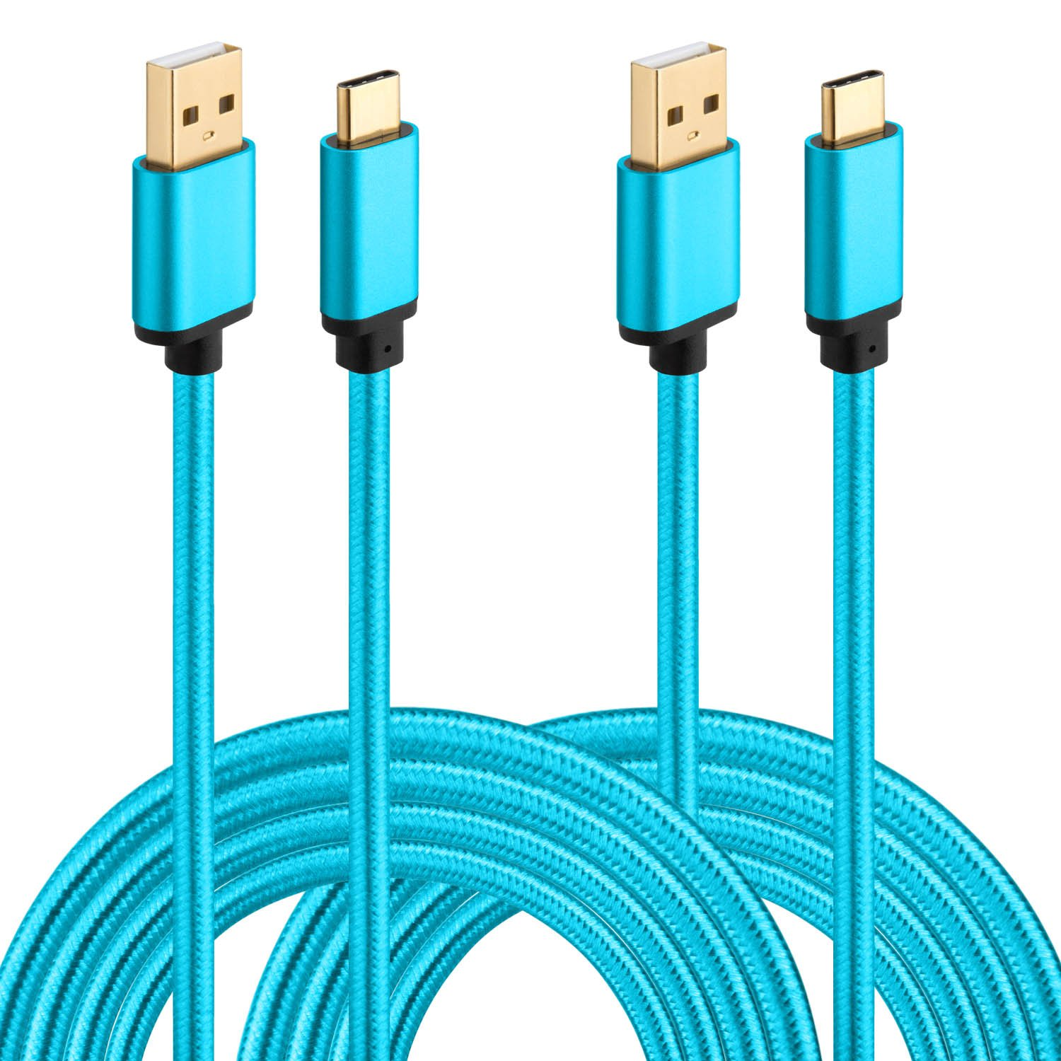 Amazon.com: USB Type C Cable, HI-CABLE USB C to USB A Charger 2-Pack ...