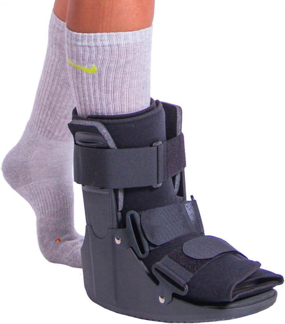 Amazon Com Braceability Stress Fracture Foot Brace Walking Boot S Health Personal Care