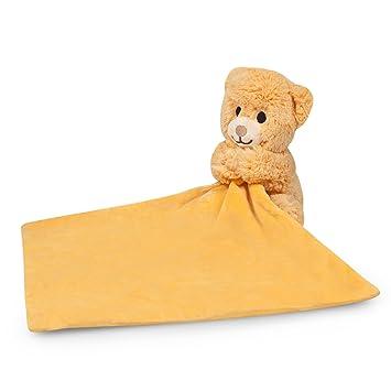 Amazon Com Waddle Favorite Teddy Bear Plush Toy Best Baby Rattle