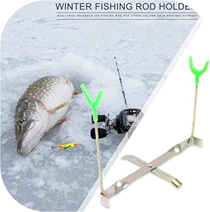 Adjustable Fishing Rod Bracket Rest Stand Support Holder Head Pole Fishing Tools