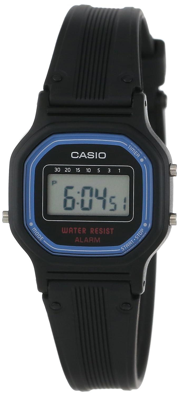 Casio LA11WB-1 - Reloj (Resina, SR1116W/CR1216, 2 año(s), 11 g, 24 x ...