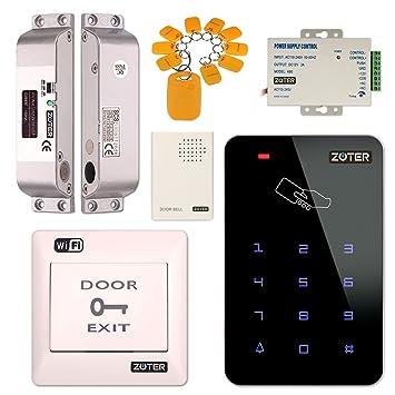 Sistema de control de acceso, Zoter WiFi inalámbrico APP Control Home Office DIY Kit de