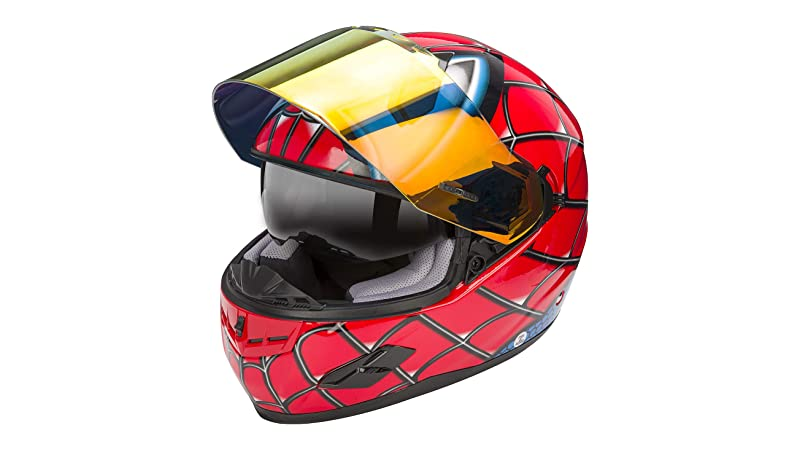 NENKI NK-856 Full Face Spider-man Motorcycle Helmet