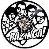 Vinilo adhesivo para pared con diseño de la serie The Big Bang Theory: Amazon.es: Hogar