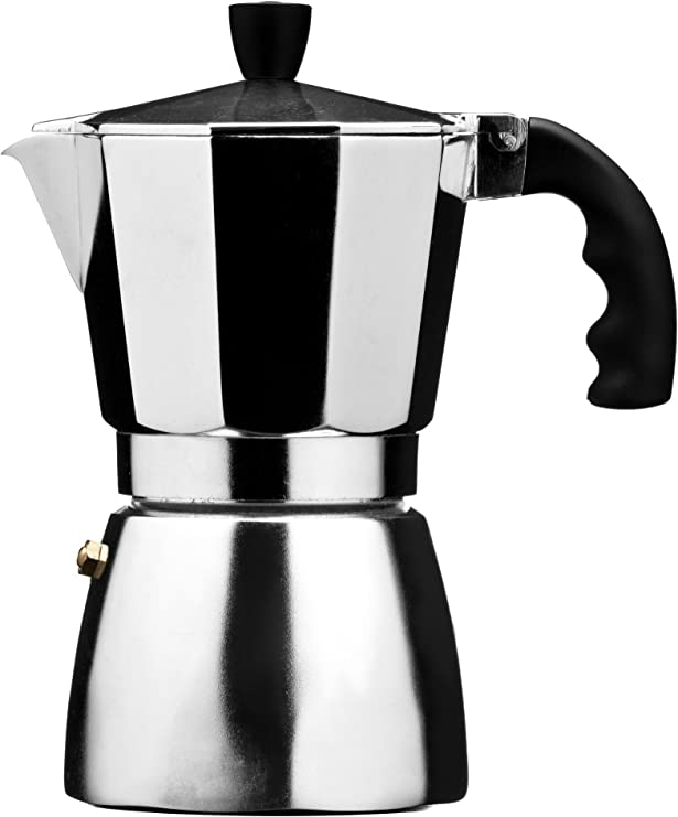 Premier Housewares - Cafetera italiana (6 tazas, aluminio): Amazon ...