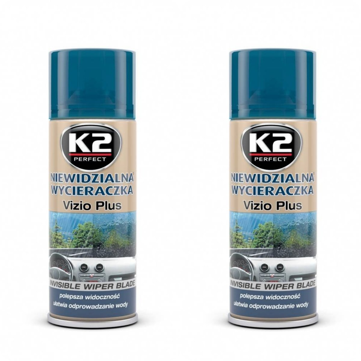 K2  vizio nanotech invisibile tergicristallo, Rain repellente spray 200  ml Rain repellente spray 200 ml Made from Poland