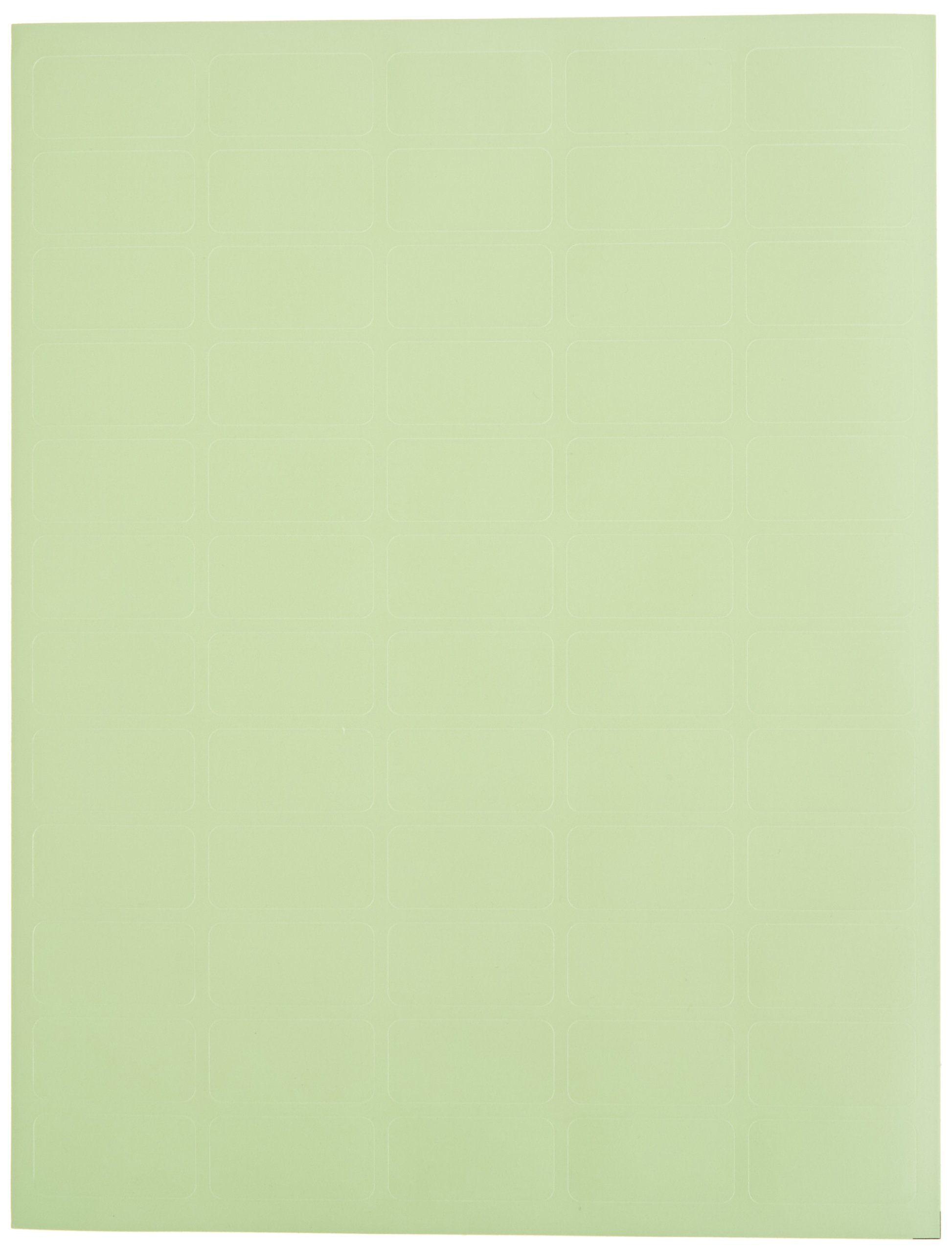 Diversified Biotech LCRY-1200-G Polyolefin Cryo-Babies Laser Label, Use for General Purpose, 0.75'' Width x 1.50'' Length, Green (Pack of 1200)