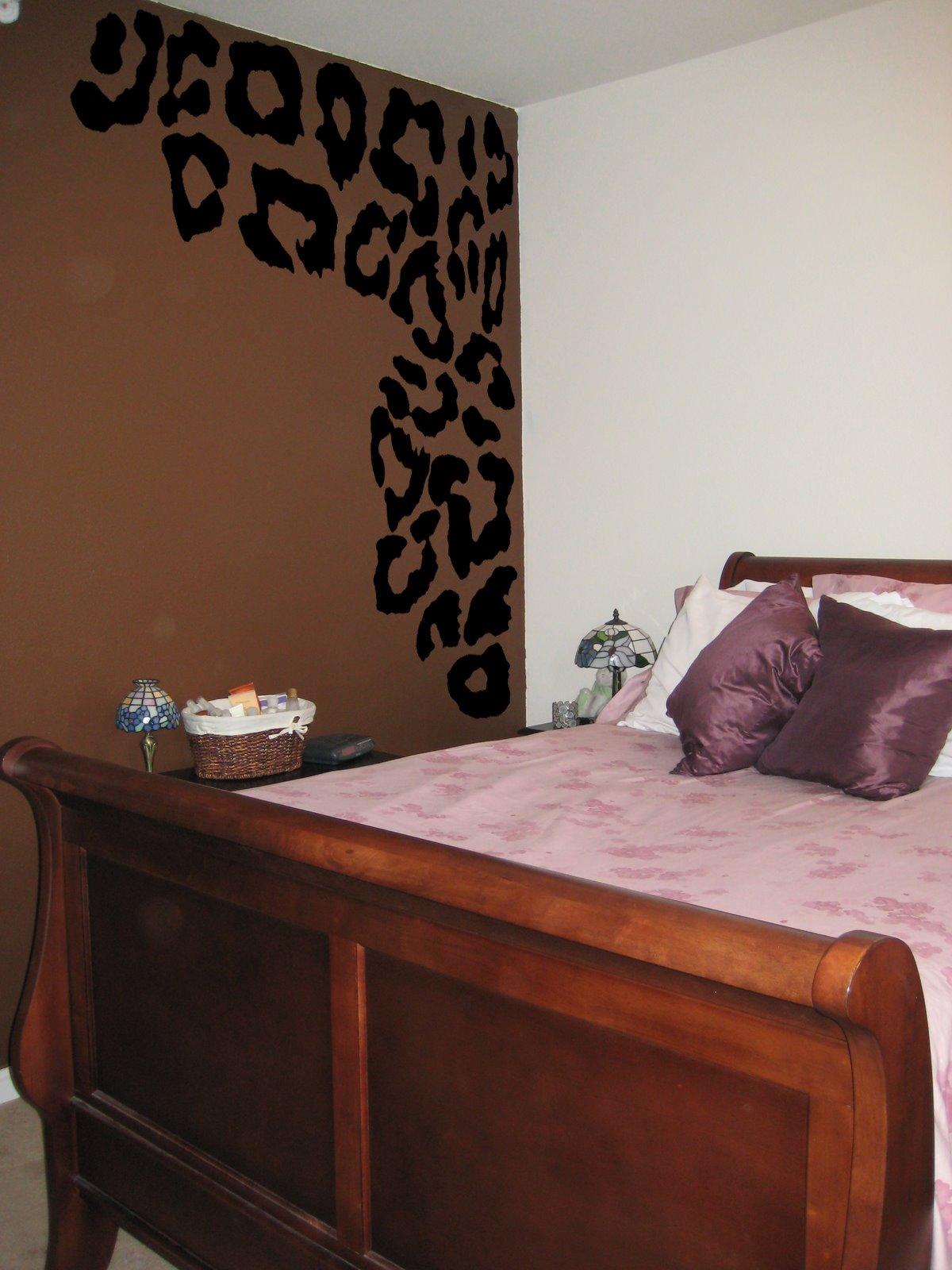 Leopard Print Spots Vinyl Wall Decal Decor Cheetah Print Wall