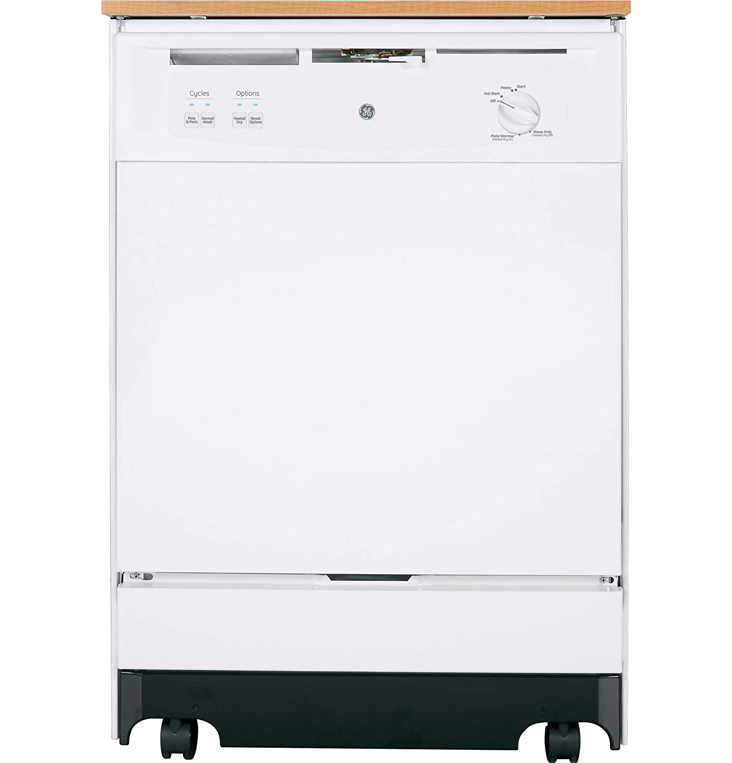 "Amazon.com: GE GSC3500DWW 24"" White Portable Full Console Dishwasher -  Energy Star: Appliances"