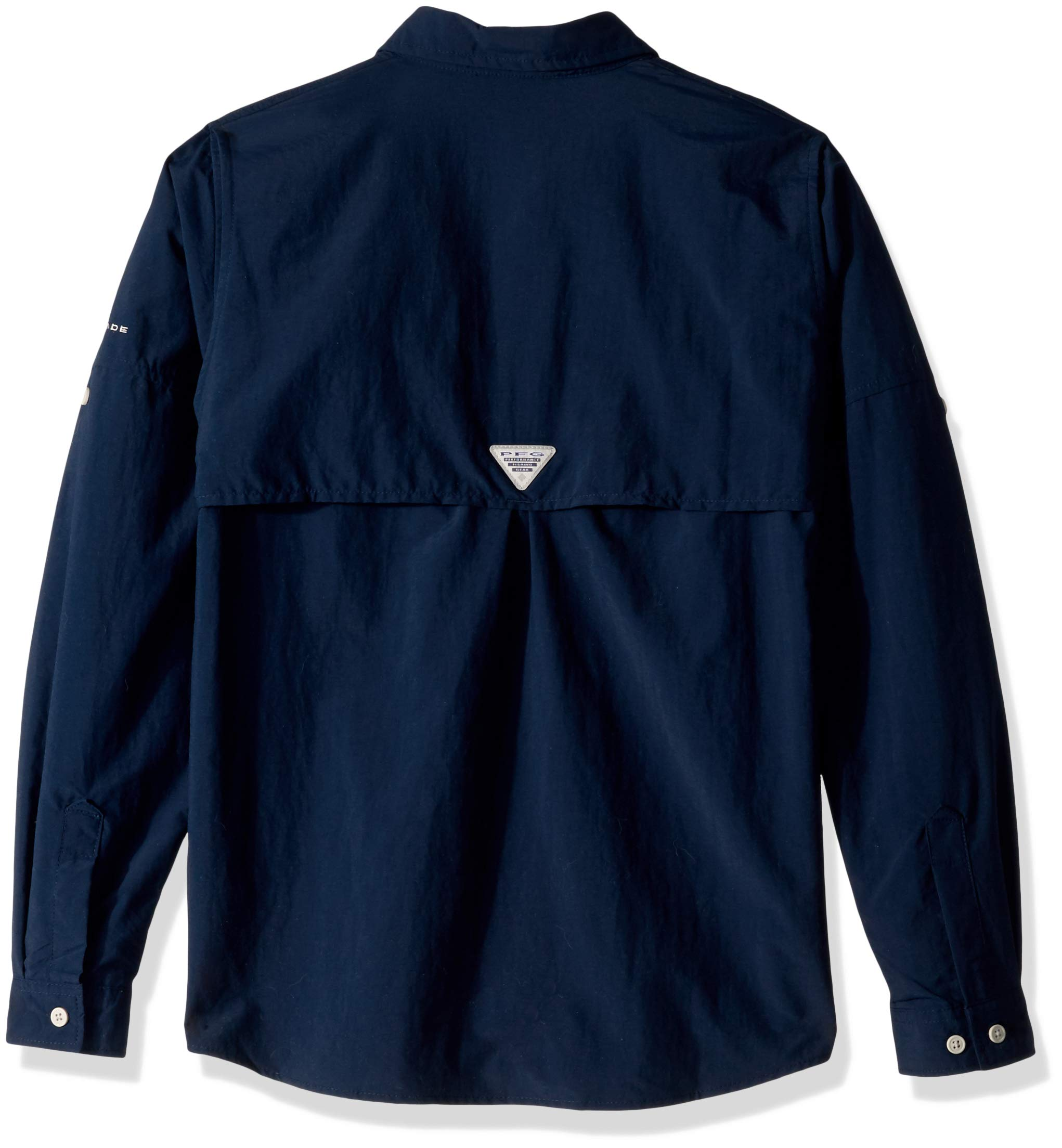 Columbia Boys PFG Bahama Long Sleeve Shirt, Collegiate Navy, Medium by Columbia (Image #2)