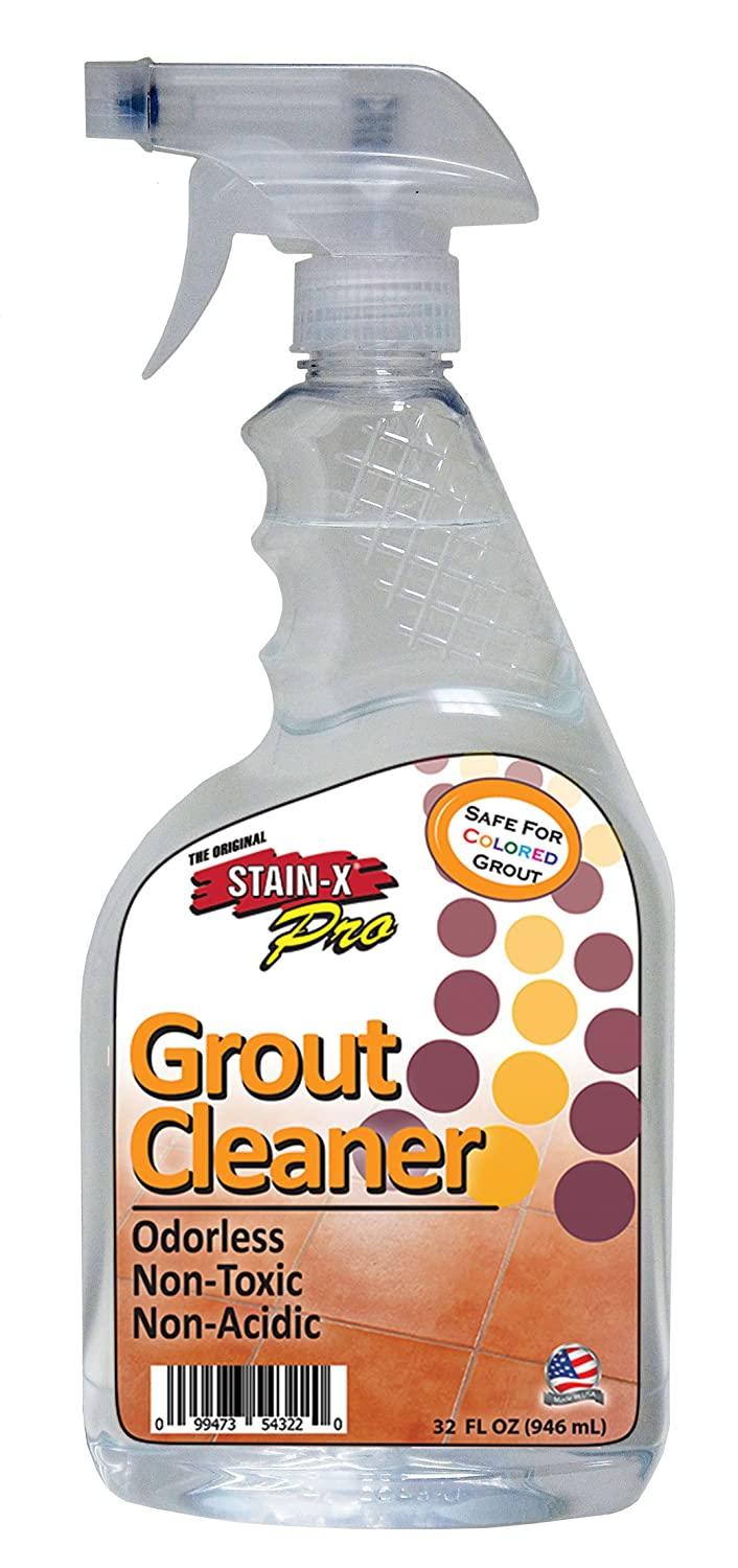 Amazon stain x pro grout cleaner 32 oz home kitchen dailygadgetfo Images
