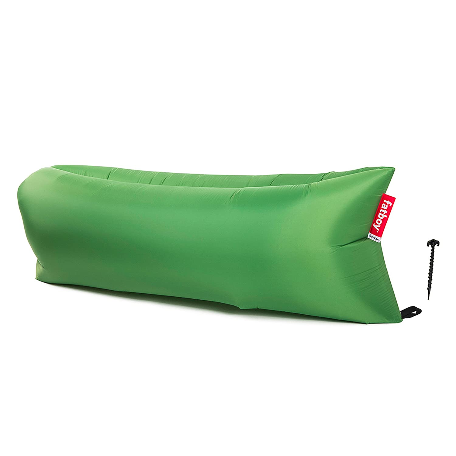 Fatboy Lamzac The Original Inflatable Air Lounger and Carry Bag Inflatable Couch for Indoor or Outdoor Hangout or Inflatable Lounge Air Chair Red LAM-SBS
