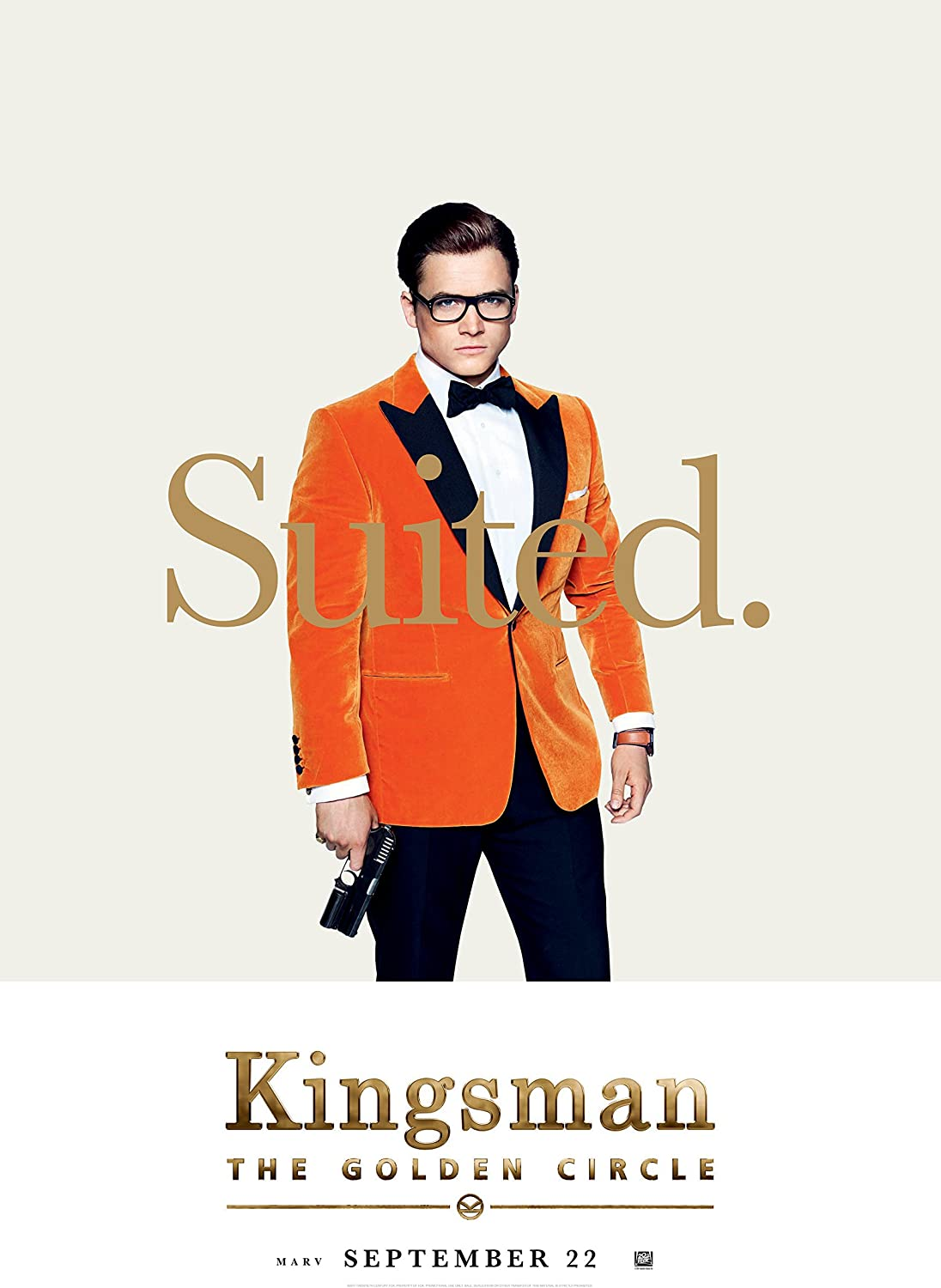 Vgpd Kingsman The Golden Circle 2017 Movie Poster Amazon Co Uk Kitchen Home