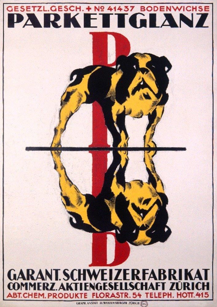Parkettglanzヴィンテージポスター(アーティスト: Baumberger )スイス 12 x 18 Art Print LANT-59648-12x18 B017Z7ERDQ  12 x 18 Art Print