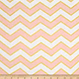 Michael Miller Glitz Metallic Chic Chevron Pearlized Confection Fabric By The Yard