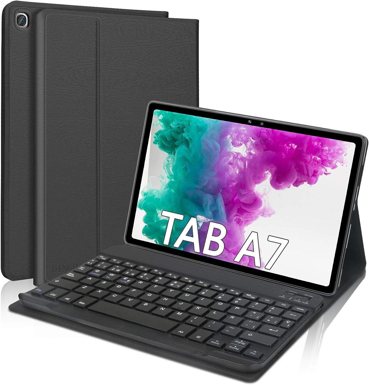 Dingrich Funda Teclado Para Samsung Galaxy Tab A7 10 4 2020 Español ñ Teclado Bluetooth Inalámbrico Extraíble Magnético Para Samsung Galaxy Tab A7 10 4 T500 T505 T507 2020 Tablet Negro Amazon Es Electrónica
